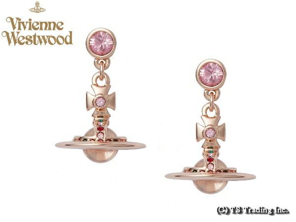 Vivienne Westwood ヴィヴィアンウエストウッド New Tiny Orb Pierced Earrings 新・タイニー オーブ ピアス (PK GOLD)【あす楽対応】【YDKG-k】【W3】