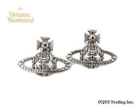 Vivienne Westwood ヴィヴィアンウエストウッド★Radha Bas Relief Orb Pierced Earrings ☆ラーダ バス オーブ ピアス(SV)【あす楽対応】【YDKG-k】【W3】【送料無料】