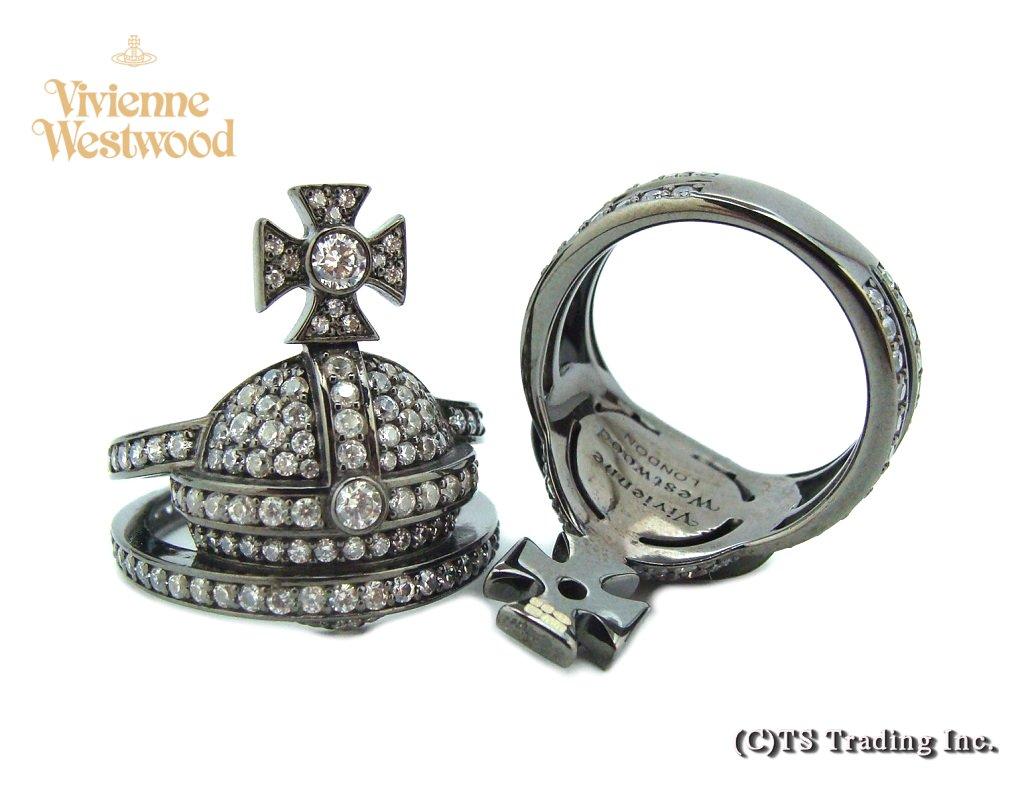 Vivienne Westwood ヴィヴィアンウエストウッド MAN ORB Ring オーブ リング SV925(ガンメタ)【あす楽対応】【YDKG-k】【W3】【送料無料】【smtb-k】