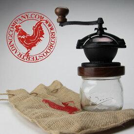 Camano Coffee Mill カマノコーヒーミル red rooster trading company 手動 コーヒー ミル ハンドメイド