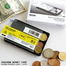 アナハイムマネーカードAnaheimMoneyCardコインケースマネークリップカードポケットW9×D6×H1cmABS