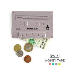 MoneyTapeマネーテープdoiyドーイカセットテープコインケースコーラル/グリーン/グレー/ネオンイエローシリコン