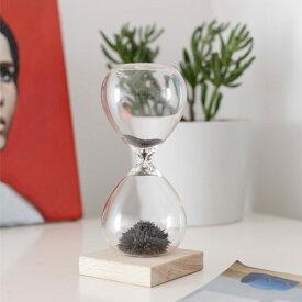 KIKKERLAND Magnetic Hourglass マグネティックアワーグラス 砂時計 砂鉄 磁石 【あす楽対応_東海】