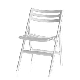 MAGIS Folding Air-Chair マジス フォールディングエアチェアー Orange/Green/White W465xD490xH770 SH450mm 屋外対応
