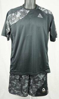Soccer Futsal ware practices bonera kamovlaplactis shirt short-sleeved chats pants set PS019T/PS019P