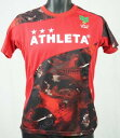 サッカー フットサル ウェア プラシャツ アスレタ 総柄プラクティスシャツ 03296-2