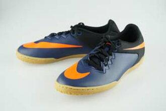 1dd0d20f6 Soccer Pro-Shop Players  Futsal shoes Nike hyper venom X professional IC  Midnight Navy   total Orange   Black   gum light brown 749903-480