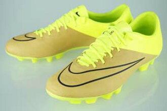 Soccer Pro-Shop Players  Football spike Nike Mercurial Vesper X leather HG-E  canvas black   Volt 768812-707  b7f19a025