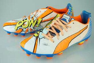 0c6723cce Soccer Pro-Shop Players  Football spikes PUMA evopower 1.2 POP HG white    Orange Crown fish   electric blue lemonade 103484-01