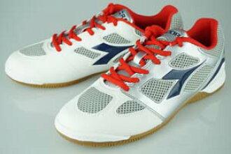 五人制足球鞋迪爾德麗 · 瑞 · 昆圖 5 ID 灰色和藍色和紅色的 161481 6024