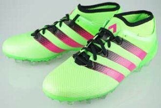 buy popular de285 60c56 Football spike adidas ACE 16.2 Japan Prime mesh HG Solar Green / Pink shock  S 16 / core black AQ3924