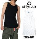 CITY LAB タンクトップ メンズ シティラブ タンクトップ 無地 メンズ 大きいサイズ ストリート スケーター メンズ レ…
