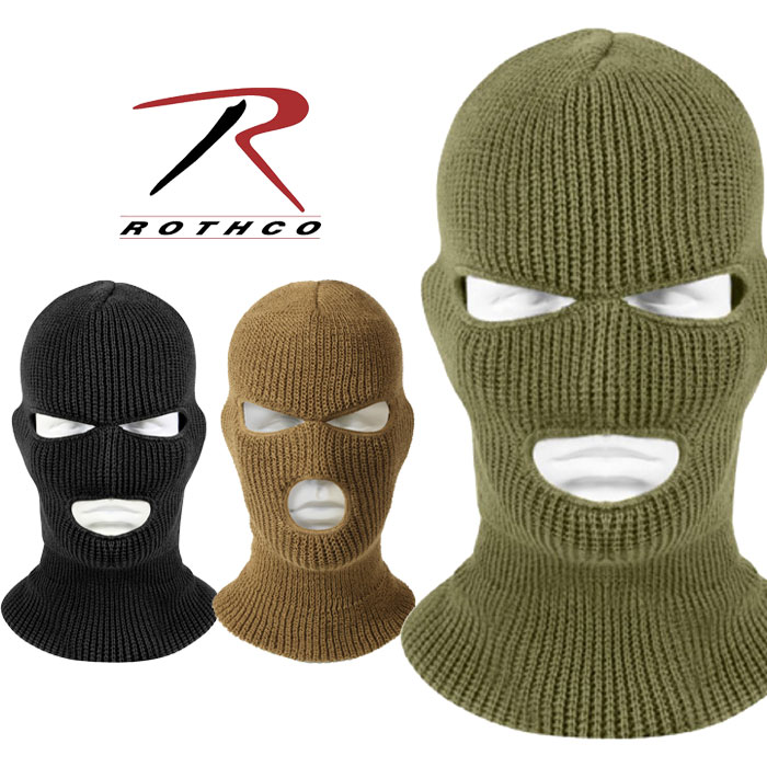 ROTHCO ロスコフェイスマスク 防寒 防寒マスク 防寒用フェイスマスク ニット帽 レディース メンズ アメカジ