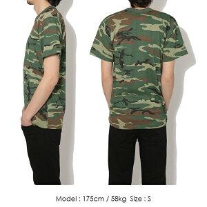ROTHCOロスコ半袖tシャツ迷彩柄Tシャツ大きいサイズミリタリーウッドランドピンクオレンジイエローブルーパープルメンズアメカジ
