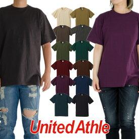 【ネコポス】UNITED ATHLE ユナイテッドアスレ Tシャツ 半袖Tシャツ 無地Tシャツ レディース メンズ アメカジ 父の日プレゼント