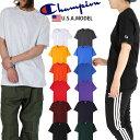 チャンピオン Tシャツ CHAMPION 半袖Tシャツ 袖ロゴ 無地Tシャツ レディース メンズ USAモデル 大きいサイズ チャンピオン ワンポイン…