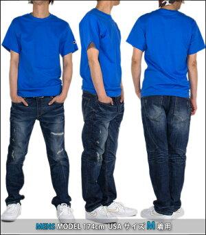 チャンピオンTシャツCHAMPIONT-SHIRTSメンズ大きいサイズオーバーサイズUSAモデルロゴ半袖無地レディースダンス衣装