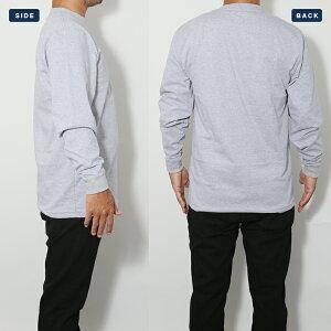 CARHARTTカーハートワンポイントロンT胸ポケット付き長袖TシャツMen'sLongSleeveWorkwearPocketT-Shirtメンズアメカジ作業服大きいサイズ無地ギフト