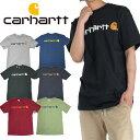 カーハート Tシャツ 半袖 CARHARTT USAモデル ロゴ 半袖Tシャツ メンズ レディース スケート B系 ストリート系 ヒップホップ ダンス …