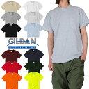 【ネコポス】USAモデル GILDAN ギルダン ポケット付き 半袖Tシャツ レディース メンズ 無地 Ultra Cotton 6.0oz ヘビーウェイト 綿100%…