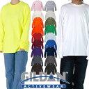 【ネコポス】GILDAN ギルダン 長袖Tシャツ レディース メンズ 無地 ロングスリーブTシャツ ロンT USAモデル 大きいサイズ ヒップホップ…