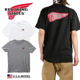 【ネコポス】レッドウィング Tシャツ REDWING Tシャツ メンズ レディース ストリート アメカジ 大きいサイズ ブラック 黒 父の日 プレゼント