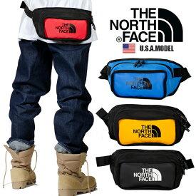 ザ ノースフェイス ウエストパック THE NORTH FACE ボディバッグ 正規品 メンズ ヒップバッグ アメカジ アウトドア ブラック 黒 レッド 赤 イエロー ブルー父の日 プレゼント