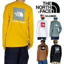 【ネコポスで送料220円】ザ ノースフェイス THE NORTH FACE 長袖Tシャツ ロゴ Tシャツ ロンT メンズ レディース ヒップホップ ストリー…