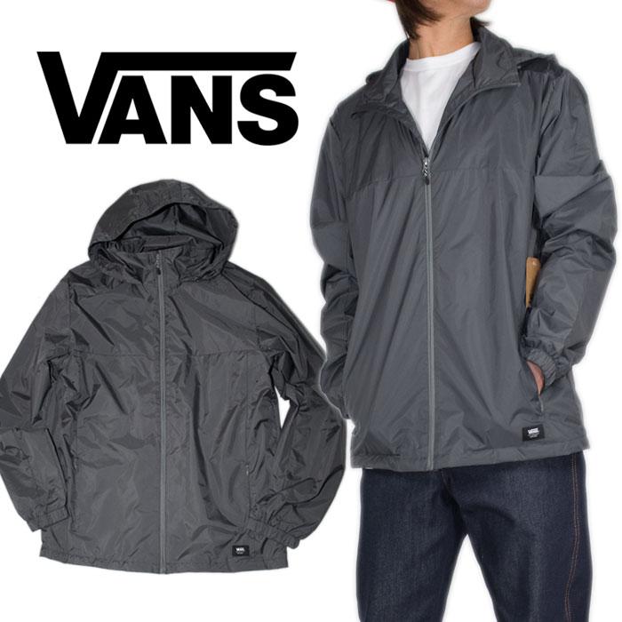 VANS ナイロンジャケット バンズ VANS コーチジャケット メンズ レディース ウィンドブレーカー ヒップホップ ストリート アメカジ 大きいサイズ