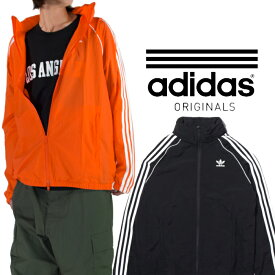 アディダス ウィンドブレーカー スーパースター adidas アウター アディダス ウィンドランナー ジャケット メンズ ブラック 黒 オレンジ 父の日プレゼント