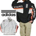 アディダス ルーズフィットナイロンジャケット adidas アウター アディダス ウインドブレーカー メンズ ブラック 黒 グレー 父の日 プレゼント