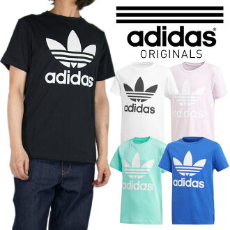Adidas T shirt adidas short sleeve T shirt ADIDAS T shirt junior size mens  ladies big trefoil 075b8add4f