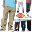 ディッキーズ ワイドチノパンツ DICKIES ダブル二— メンズ レディース 大きいサイズ USAモデル ワークパンツ ストライプ 作業服 メン…