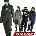 DICKIES ディッキーズ 長袖 つなぎ 長袖カバーオール つなぎ ツナギ 作業着 おしゃれ S.M.L.XL.2XL 48799 レディース …