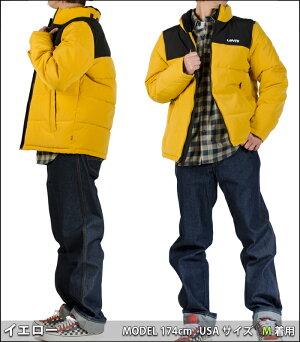リーバイス中綿ジャケットLEVI'Sジャケット無地メンズ防寒防風ブラック黒ネイビーレッドイエロージャンパーブルゾンおしゃれロゴUSAモデル大きいサイズヒップホップダンスストリートレディースメンズクリスマスプレゼント