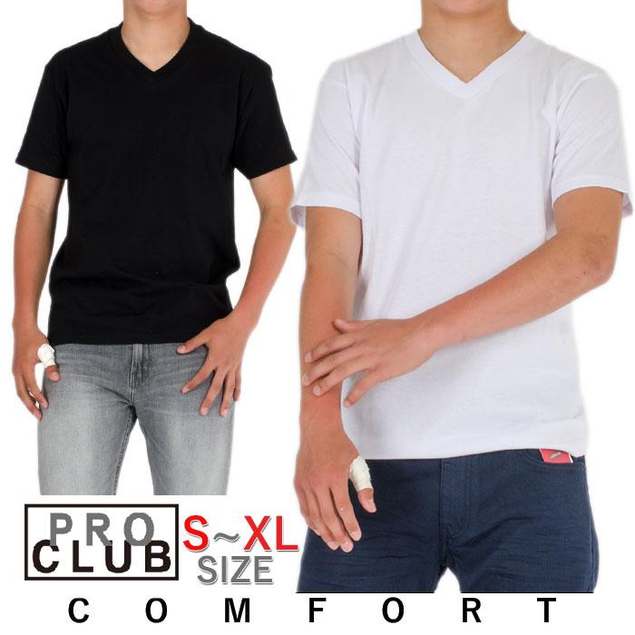 プロクラブ コンフォートVネックTシャツS.M.L.XL.サイズ 全2色/メンズ アメカジ/ 父の日 ギフト 初売り