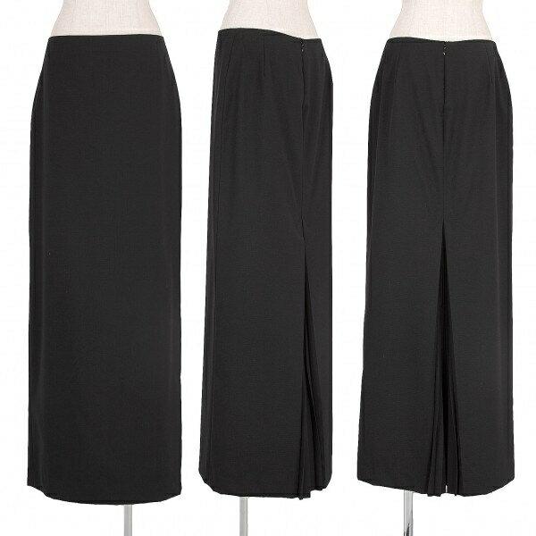 【SALE】ジャンポールゴルチエ ファム Jean Paul GAULTIER FEMME バックプリーツデザインスカート 黒42【中古】