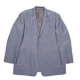 【BIG SALE】ヨウジヤマモト プールオムYohji Yamamoto POUR HOMME 光沢レーヨン2Bジャケット グレーS