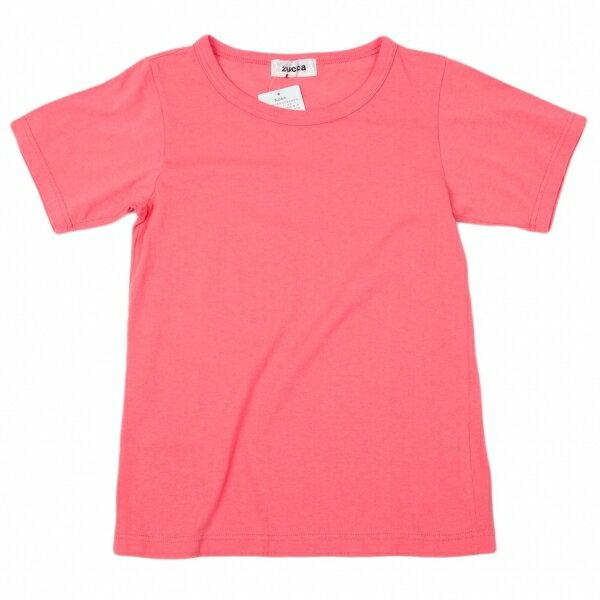 【SALE】新品!ズッカZUCCA 製品染め半袖Tシャツ ピンクM【レディース】