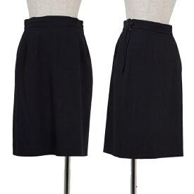 【SALE】マーガレットハウエルMARGARET HOWELL ウール台形スカート 紺2【レディース】