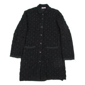 【SALE】ヨウジヤマモト プールオムYohji Yamamoto POUR HOMME クラッシュニットリバーシブルシャツジャケット 黒3【中古】 【メンズ】