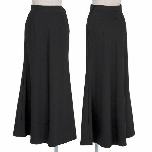 ジャンポールゴルチエ クラシックJean Paul GAULTIER CLASSIQUE ウールAラインスカート 黒40【中古】