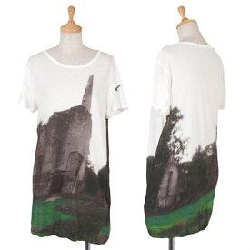 ワイズY's グラフィックプリントTシャツ 白他2【中古】 【レディース】