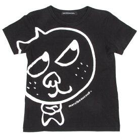 メルシーボークーmercibeaucoup キャラクタープリントTシャツ 黒白1【中古】 【レディース】