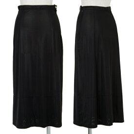 アイウィッシュワイズビスiwish Y's bis ポリシースルースカート 黒M位【中古】 【レディース】