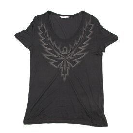 ビューティフルピープルbeautiful people シルク混刺繍Tシャツ グレーM位【中古】 【レディース】