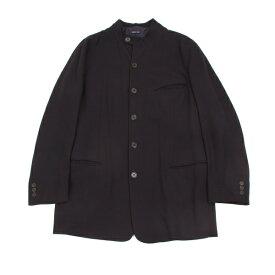ジョルジオ アルマーニGIORGIO ARMANI スタンドカラーウールジャケット 濃紺48【中古】 【メンズ】