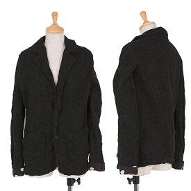 ワイズY's 裏ドットニットジャケット 黒2【中古】 【レディース】