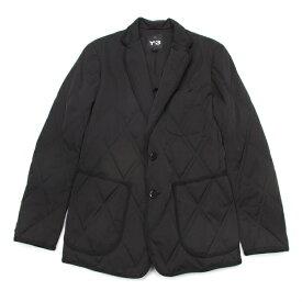 新品!ワイスリーY-3 プリマロフトダイヤキルティングテーラードジャケット 黒XS 【メンズ】