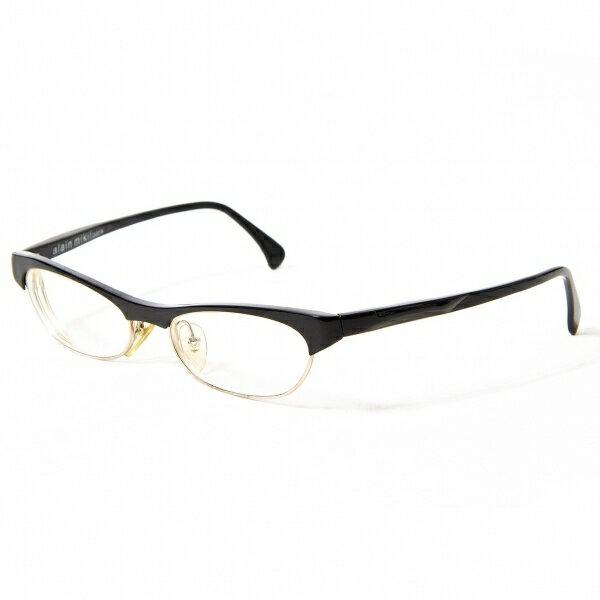 アランミクリalain mikli 2695COL0701 ブロウセルフレームメガネ 黒【中古】